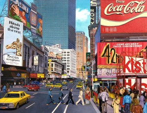 """The Beatles Times Square"" by Anthony Avino"