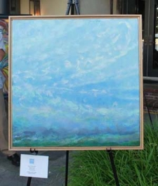 Painting donated by artist Jane Wilson