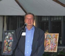 Photographer John Jonas Gruen also donated works, and encouraged and applauded the Fountain Gallery artists