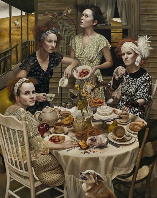 """""""An Invitation"""" by Andrea Kowch"""