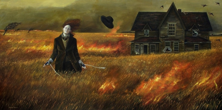 """""""No Turning Back"""" by Andrea Kowch"""