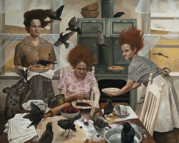 """The Visitors"" by Andrea Kowch"