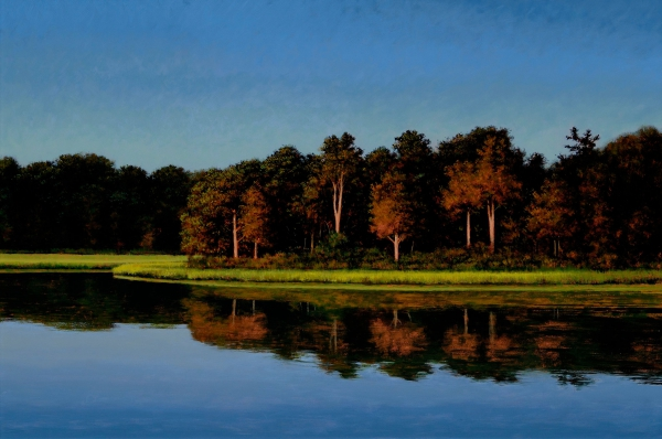 Jeff-Aeling_Sag-Harbor-Cove_24-x-36_-oil-on-Panel-$6000