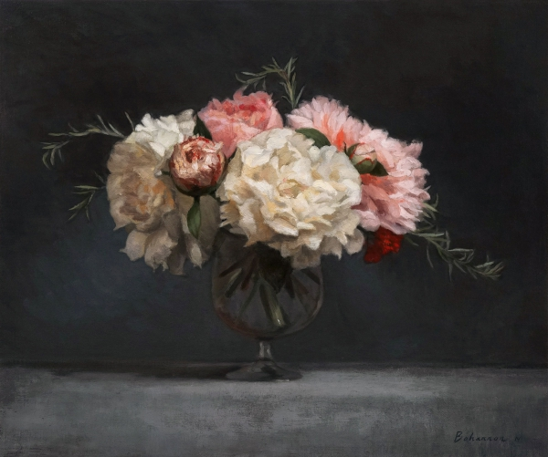 August-Peonies-oil-on-linen-15-x-18-framed-size-is-20.25-x-23.25-4500